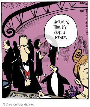 Comic Strip John Deering  Strange Brew 2013-04-22 tuxedo