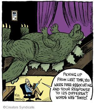 Comic Strip John Deering  Strange Brew 2013-04-23 Tokyo