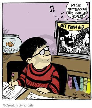 Comic Strip John Deering  Strange Brew 2013-04-24 political participation
