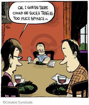 Comic Strip John Deering  Strange Brew 2013-04-26 strong