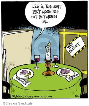 Comic Strip John Deering  Strange Brew 2013-04-29 between