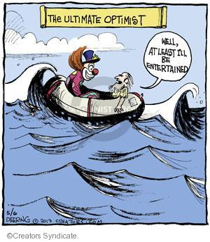 Comic Strip John Deering  Strange Brew 2013-05-06 adrift
