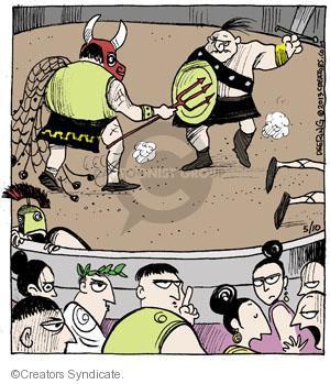 Comic Strip John Deering  Strange Brew 2013-05-10 Roman