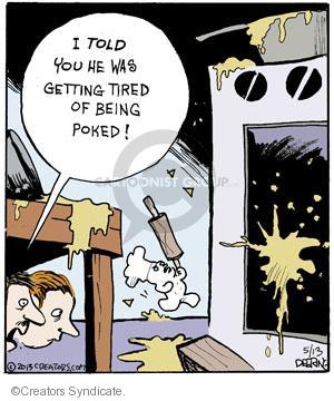 Comic Strip John Deering  Strange Brew 2013-05-13 anger