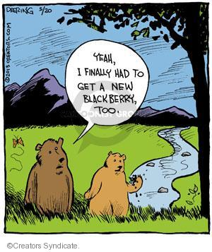 Comic Strip John Deering  Strange Brew 2013-05-20 wildlife