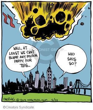 Cartoonist John Deering  Strange Brew 2013-05-21 city