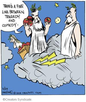 Comic Strip John Deering  Strange Brew 2013-05-29 between