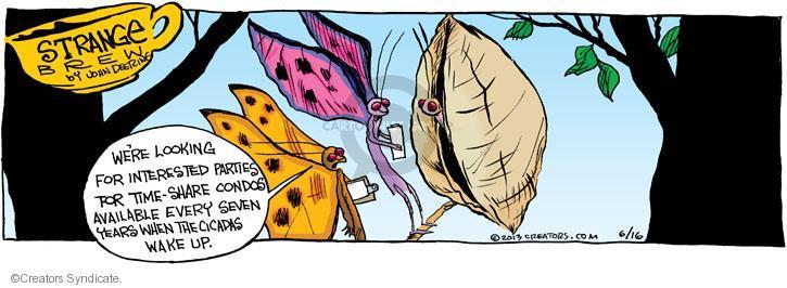 Comic Strip John Deering  Strange Brew 2013-06-16 vacation