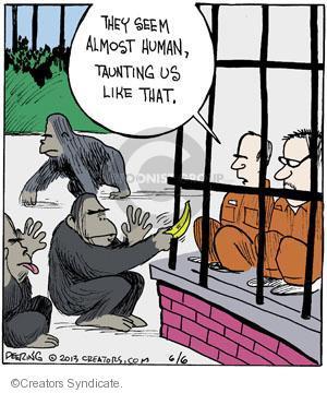 Comic Strip John Deering  Strange Brew 2013-06-06 wildlife