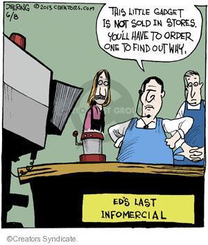 Cartoonist John Deering  Strange Brew 2013-06-08 television cartoon