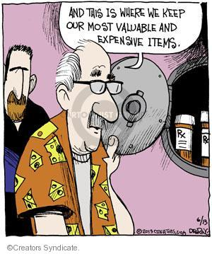 Comic Strip John Deering  Strange Brew 2013-06-13 medication