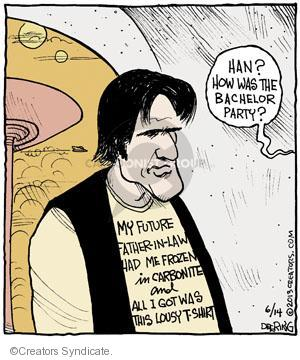 Comic Strip John Deering  Strange Brew 2013-06-14 science fiction