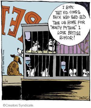 Cartoonist John Deering  Strange Brew 2013-06-19 television cartoon