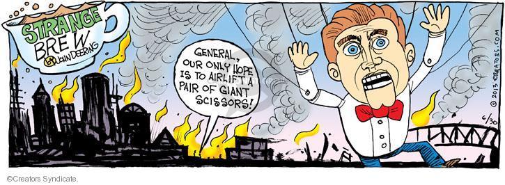 Cartoonist John Deering  Strange Brew 2013-06-30 city