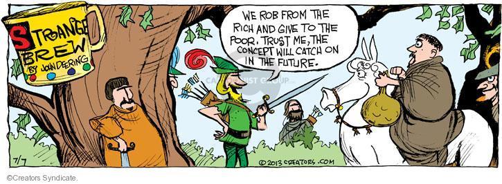 Comic Strip John Deering  Strange Brew 2013-07-07 trust