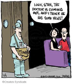 Comic Strip John Deering  Strange Brew 2013-07-03 surgeon