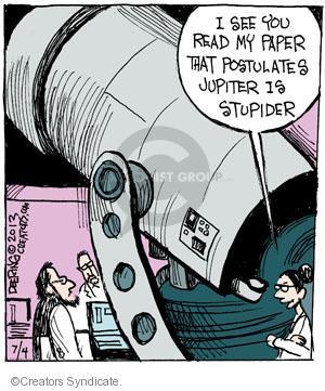Cartoonist John Deering  Strange Brew 2013-07-04 rhyme