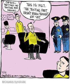 Cartoonist John Deering  Strange Brew 2013-07-13 television cartoon