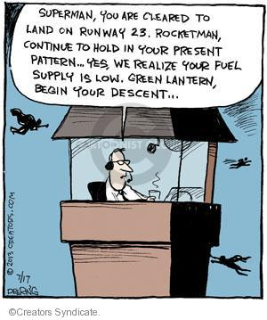 Comic Strip John Deering  Strange Brew 2013-07-17 supply