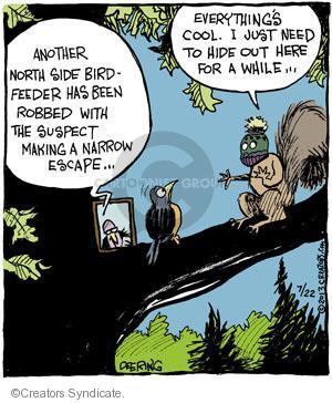 Comic Strip John Deering  Strange Brew 2013-07-22 side