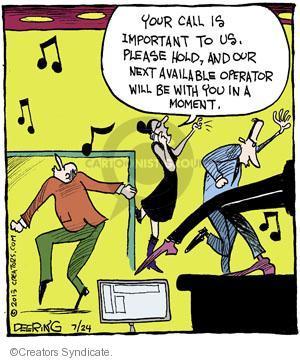 Comic Strip John Deering  Strange Brew 2013-07-24 musical
