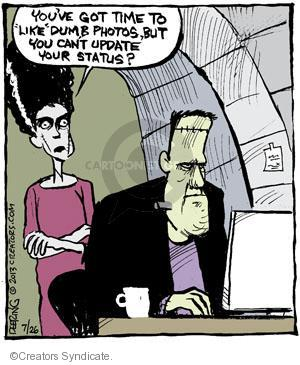 Comic Strip John Deering  Strange Brew 2013-07-26 photo