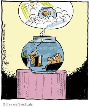 Comic Strip John Deering  Strange Brew 2013-07-30 heaven