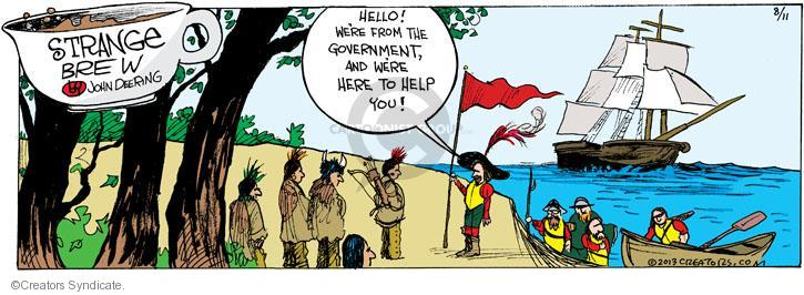 Can suggest Christopher columbus comic strip agree