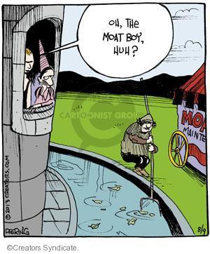 Cartoonist John Deering  Strange Brew 2013-08-09 peasant