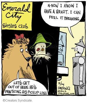Cartoonist John Deering  Strange Brew 2013-08-14 city