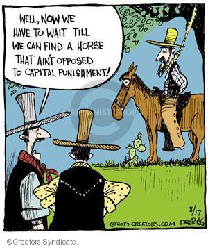 Comic Strip John Deering  Strange Brew 2013-08-17 punishment