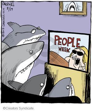 Cartoonist John Deering  Strange Brew 2013-08-19 television cartoon