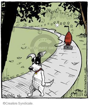 Comic Strip John Deering  Strange Brew 2013-08-20 chase