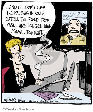 Comic Strip John Deering  Strange Brew 2013-08-22 satellite television
