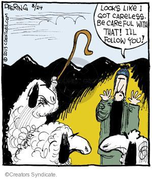 Comic Strip John Deering  Strange Brew 2013-08-24 follow