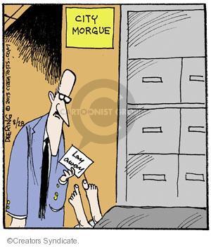Cartoonist John Deering  Strange Brew 2013-08-28 city
