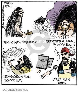 Cartoonist John Deering  Strange Brew 2013-08-30 television cartoon