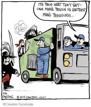 Comic Strip John Deering  Strange Brew 2013-09-04 attack