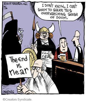 Cartoonist John Deering  Strange Brew 2013-09-06 sense