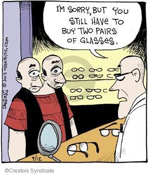 Comic Strip John Deering  Strange Brew 2013-09-12 vision