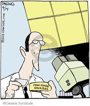 Comic Strip John Deering  Strange Brew 2013-09-14 science