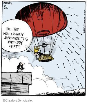 Cartoonist John Deering  Strange Brew 2013-09-16 arrow
