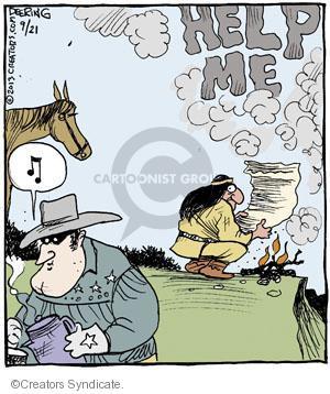 Cartoonist John Deering  Strange Brew 2013-09-21 smoke