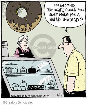 Cartoonist John Deering  Strange Brew 2013-09-23 diet