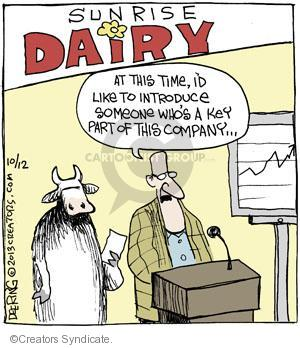 Comic Strip John Deering  Strange Brew 2013-10-12 company