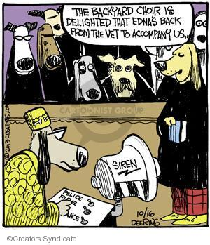 Comic Strip John Deering  Strange Brew 2013-10-16 musical