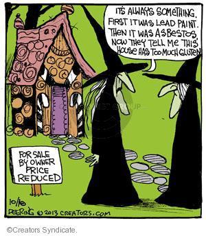 Comic Strip John Deering  Strange Brew 2013-10-18 property