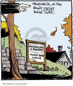 Comic Strip John Deering  Strange Brew 2013-11-06 shady