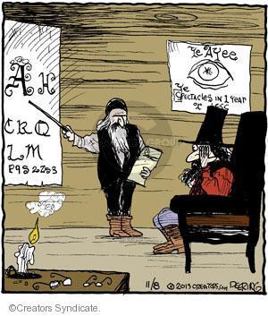 Comic Strip John Deering  Strange Brew 2013-11-08 vision