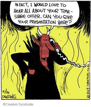 Comic Strip John Deering  Strange Brew 2013-11-16 Satan